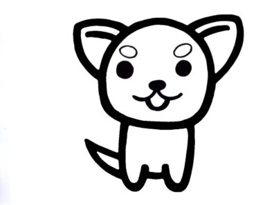 What Does A Chihuahua Look Like|How to Draw A Chihuahua